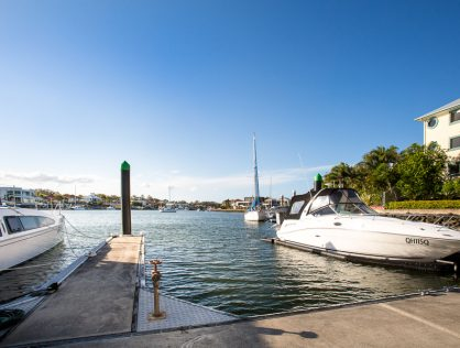 Well Positioned Marina Berth in Raby Bay Harbour